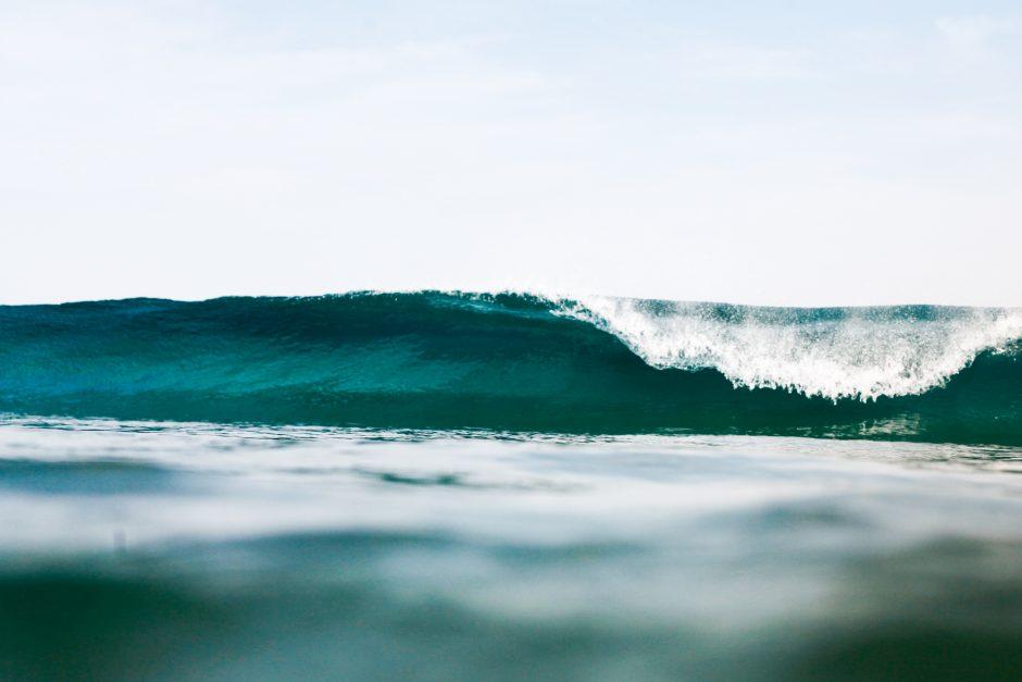 vagues La graviere