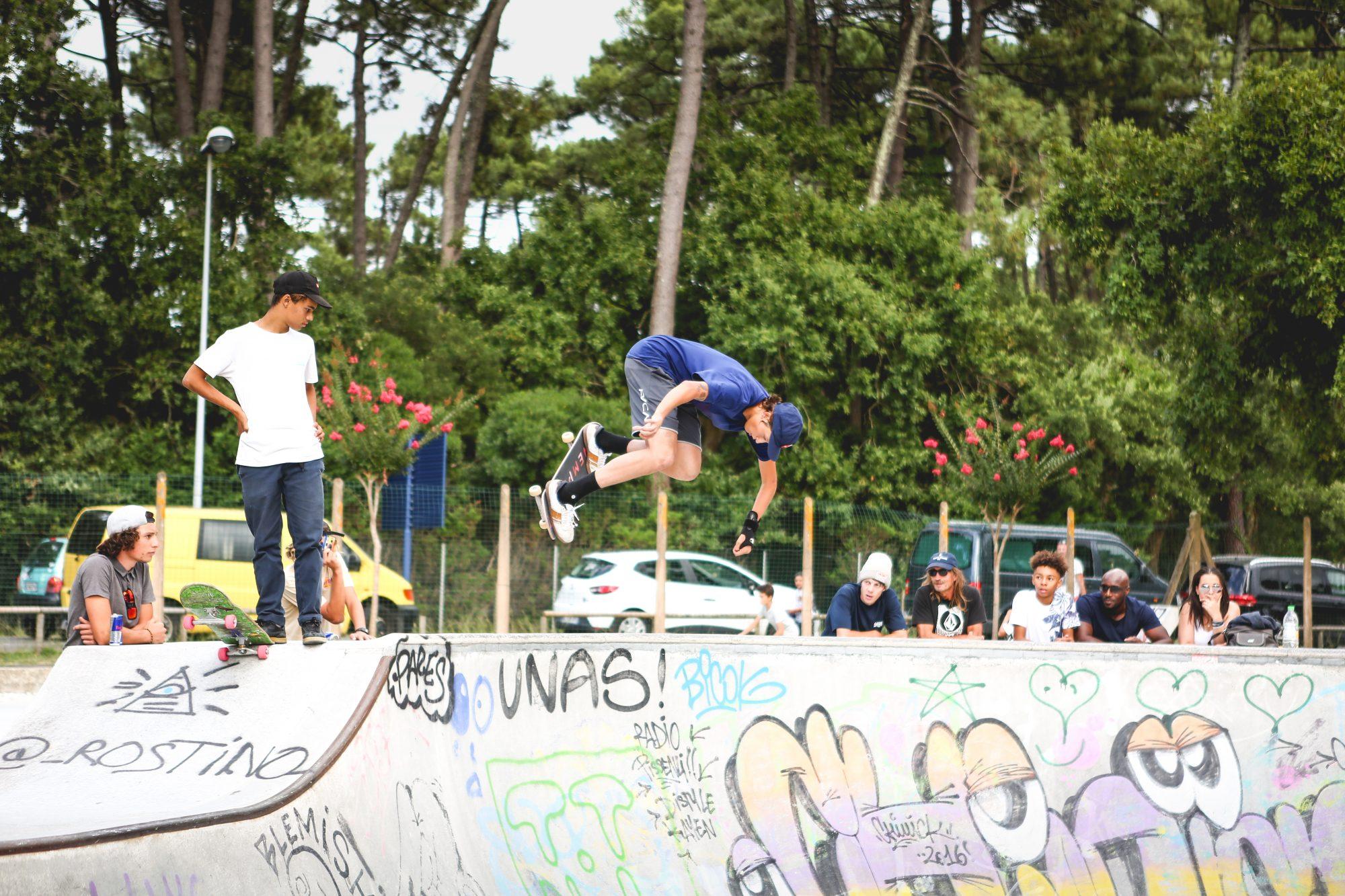 backside aire skatepark capbreton