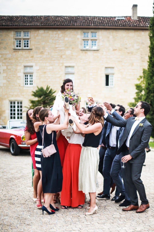 photographe mariage Landes mariée