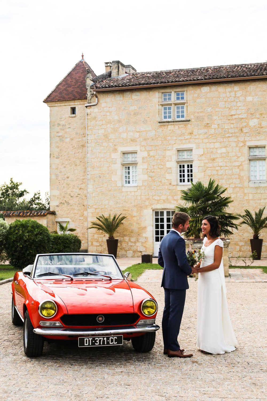 Photos de couple mariage chateau